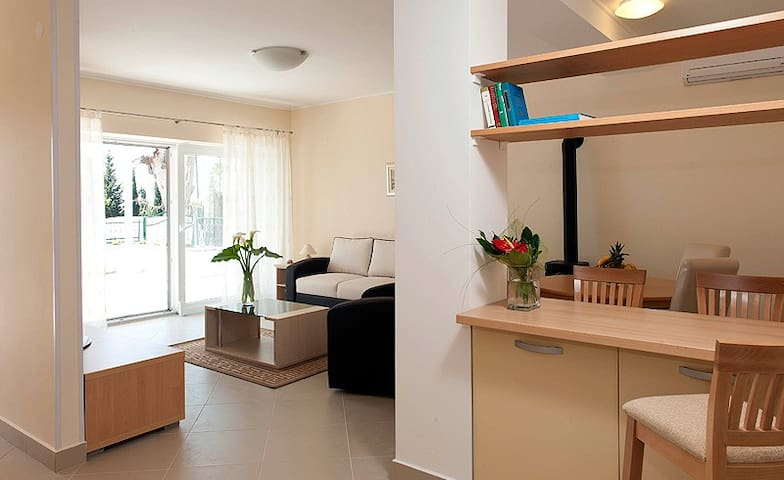 Spacious 1 bedroom apart, Mlini, DU - Mlini
