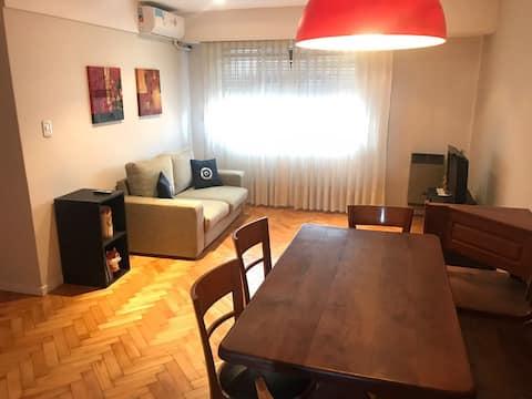 Departamento de 2 habitaciones en Caballito