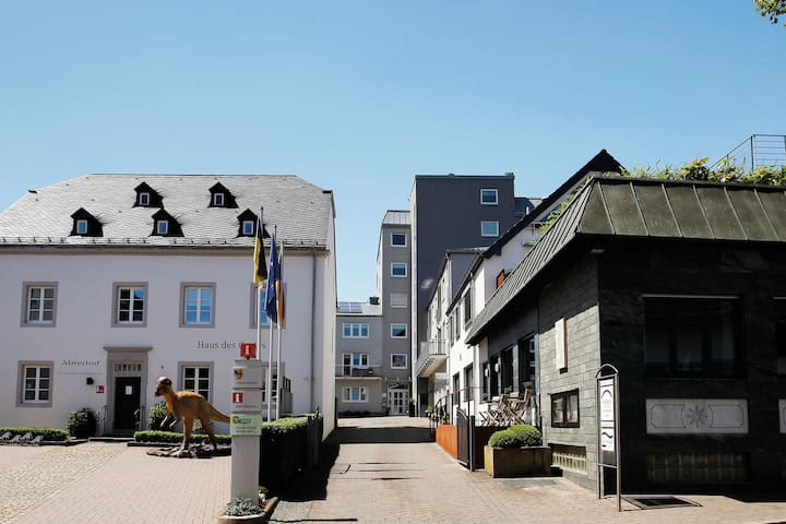 Nice apartments close to Luxembourg with many facilities.