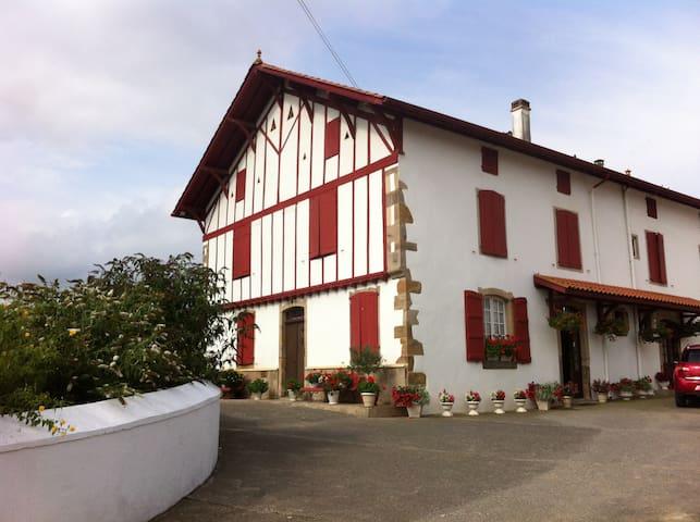 gîte à la ferme pays basque