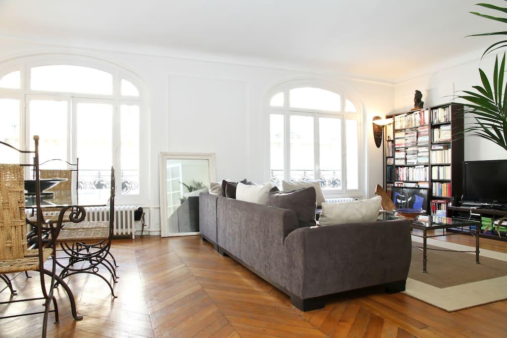 Living room - double séjour