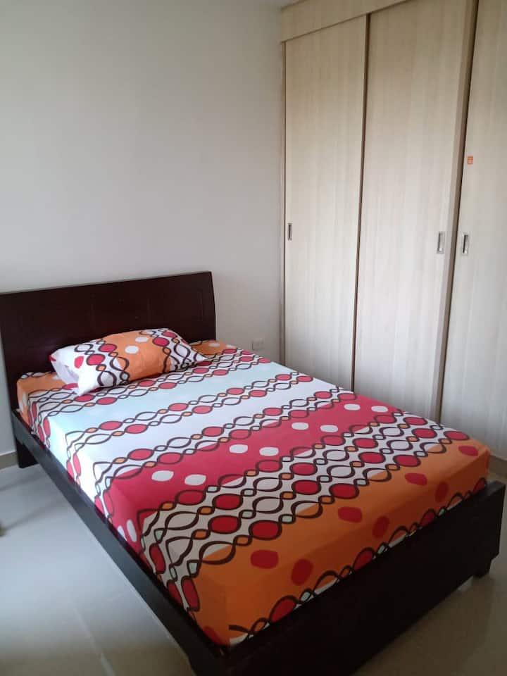 Habitación privada en apartamento en Montería