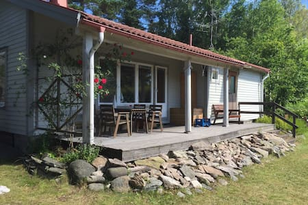 Mysig stuga nära till havet - Eriksberg - บ้าน