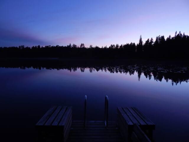 Mökki Tampereen lähellä