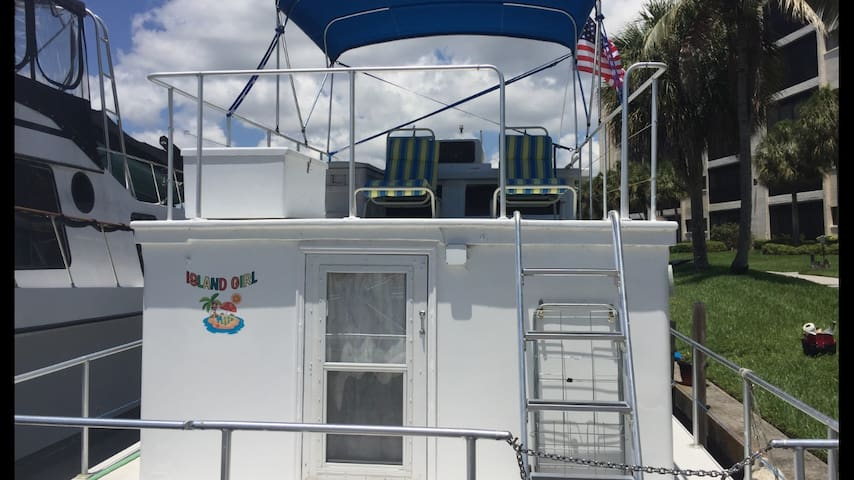 Island Girl Houseboat condo - North Fort Myers - Barca
