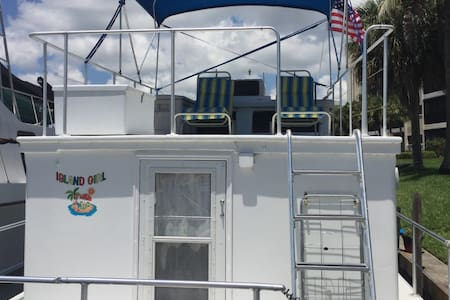 Island Girl Houseboat condo - North Fort Myers - Boot