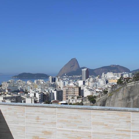 1 Bedroom, Balcony,  Sugarloaf View - Rio de Janeiro - Pis