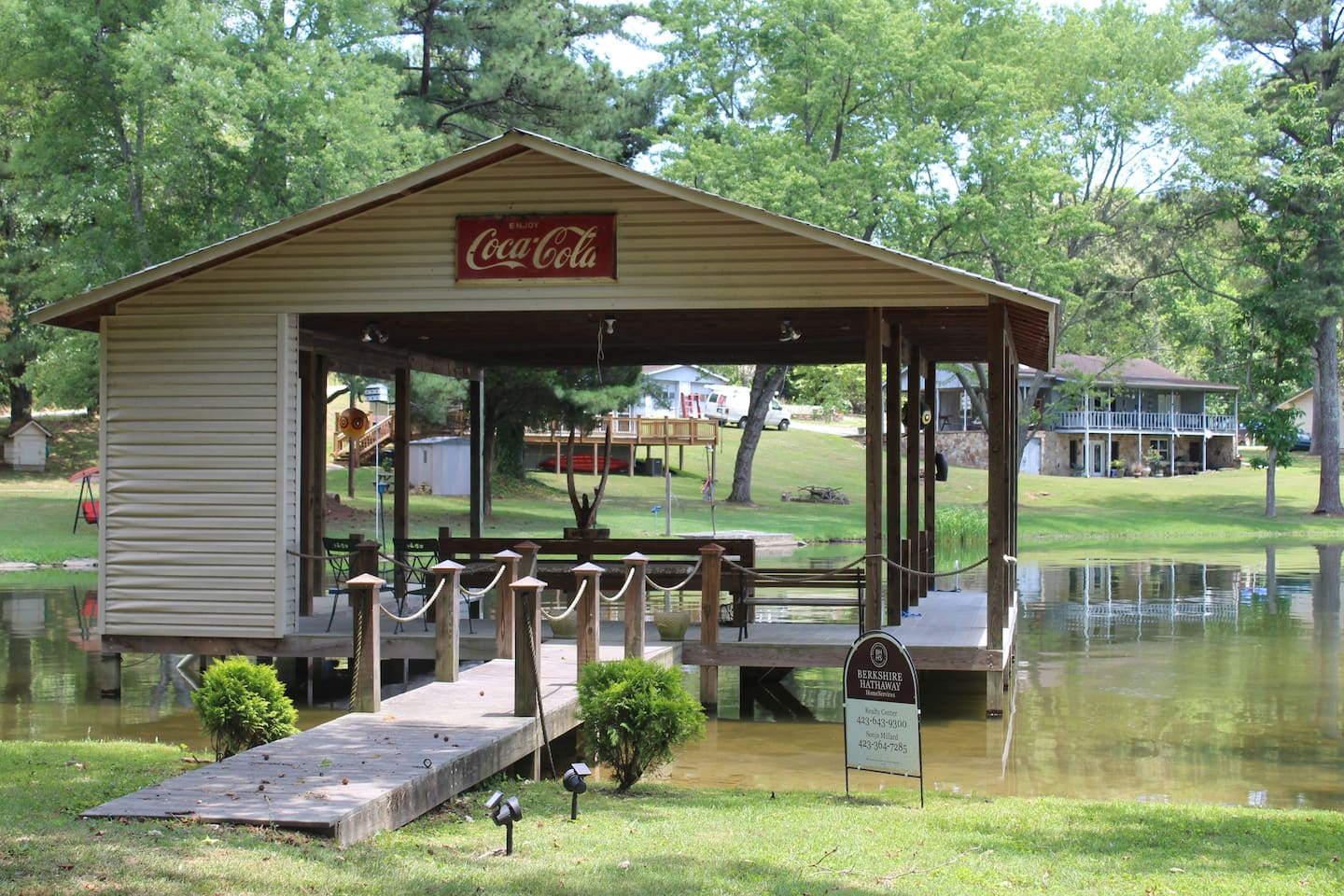 lakeside chickamauga retreat u0026 boat house houses for rent in