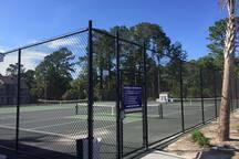 Tennis Court Next to Unit