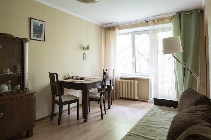 Уютная трехкомнатая квартира в Царском Селе
