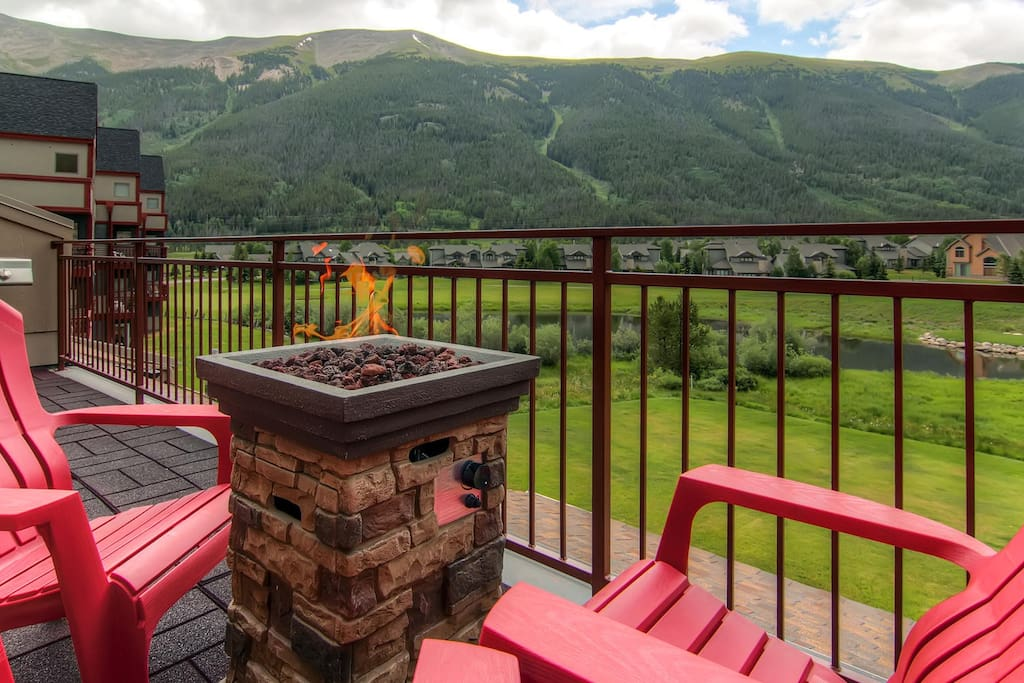 More breathtaking views on your private patio
