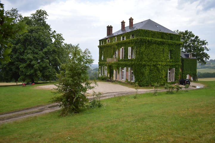 Castle in the heart of the Normandy - Lessard-et-le-Chêne - Slott