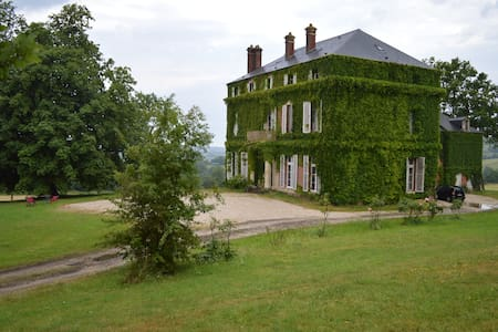 Castle in the heart of the Normandy - Lessard-et-le-Chêne - Zamek