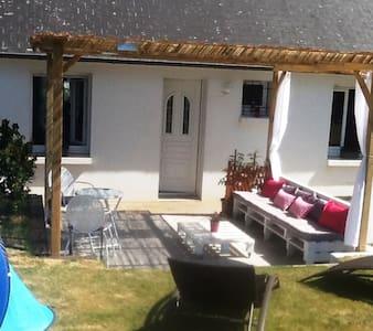 Maison ville à 20 minutes de Vannes - Moréac - Casa adossada