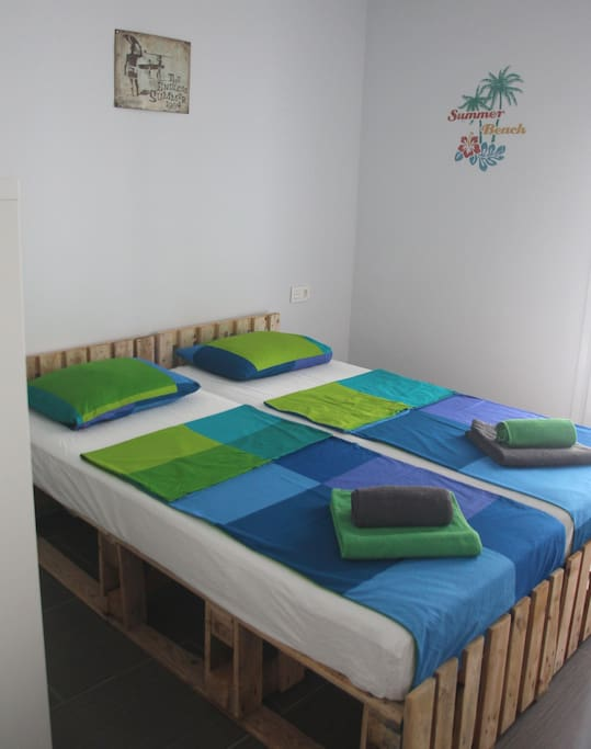 Bedroom Aloha - Matrimonial Bed Option