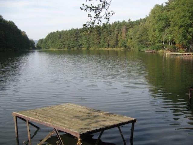 Chatka u rybníka Chobot - Stráž - Hut