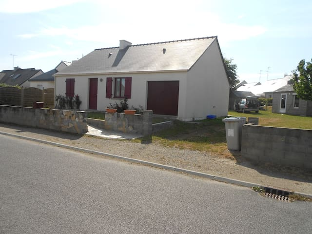 Maison avec jardin proche mer - Saint-Molf - Talo