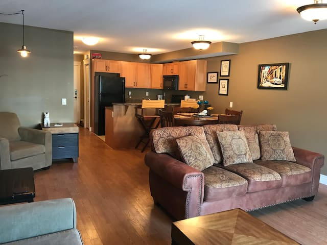 2 Bed, 2 Bath Condo with large garage.