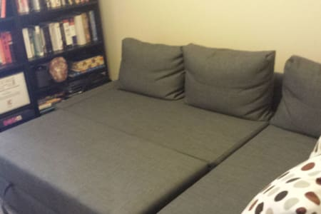 Comfy Sofabed in Apt Close to NYC
