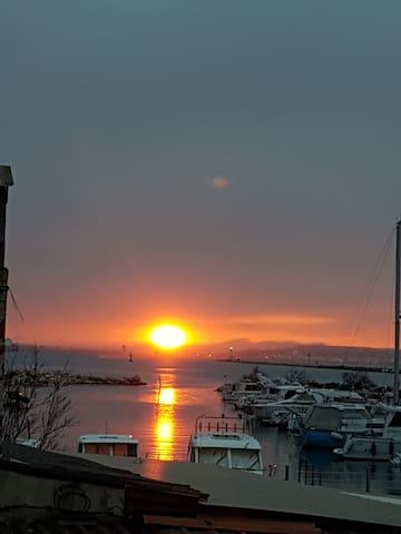 Port Saint Louis du Rhone magnifique vue sur mer
