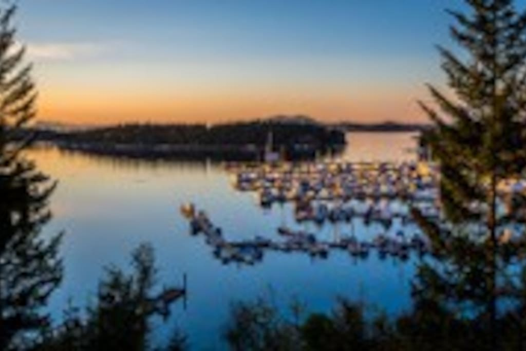 Roche Harbor, great place to roam and have breakfast, lunch or dinner.
