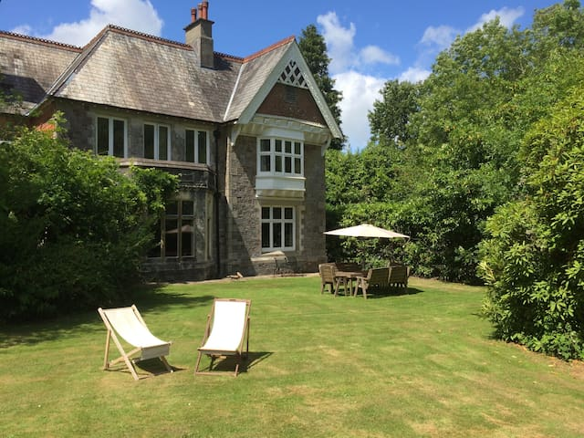 Country House with Bluebell Wood - Buckfastleigh - Huis