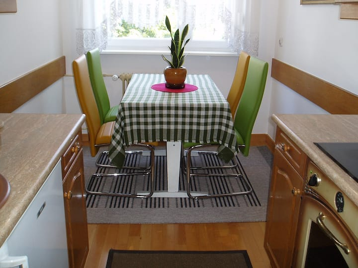 Cosy apartment in green Ljubljana
