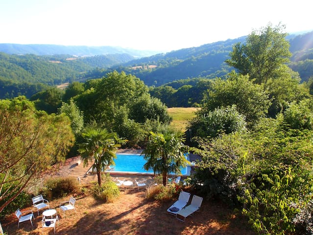 Country House with view and s.pool - Mouret - Ev