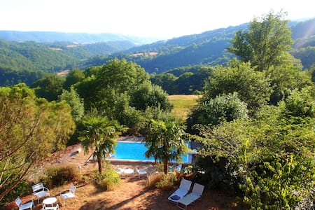 Country House with view and s.pool - Mouret - Casa