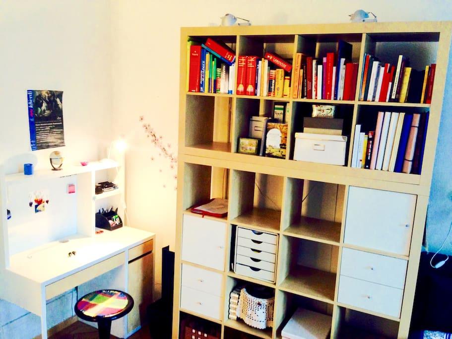 bedroom - work corner