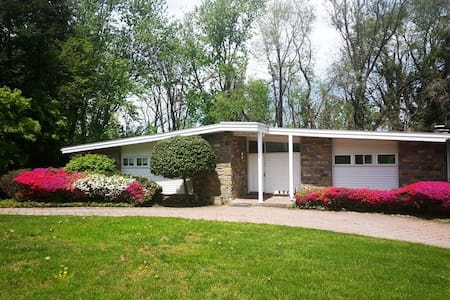 Mid Century Modern 3 Bedroom Ranch