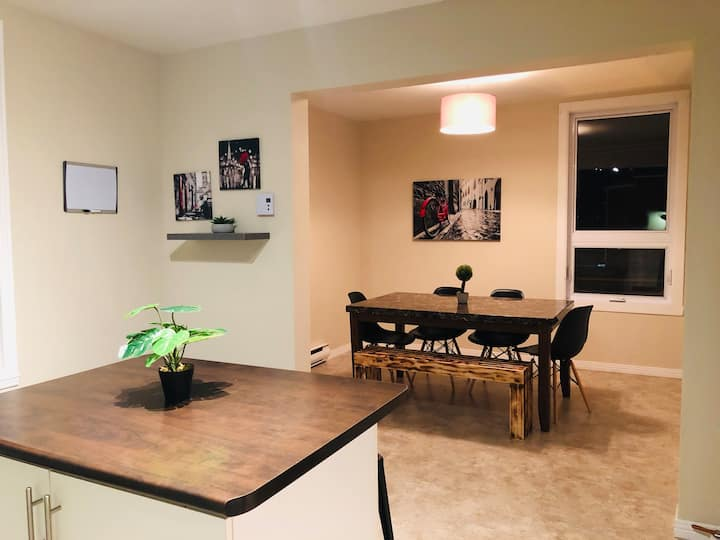 T&T #1 : Appartement Entier au coeur de Shawinigan