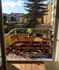 Room with terrace and garden in the city center - Lejlighed