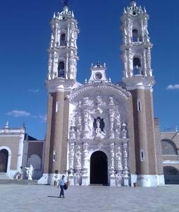 En el Centro Histórico de Tlaxcala