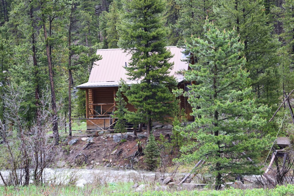 Potosi Hot Springs And Cabin Rentals Elk Cabin Cabins
