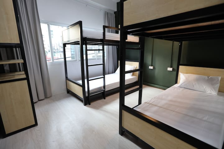 Only 2 mins walk from BTS Phra Khanong 12 Minutes to Terminal 21 // 15 Minutes to Central World and Platinum Mall //20 Minutes to Siam Paragon // 30 Minutes to JJ Market Our hostel is totally different from other places.  *FEMALE ONLY*