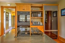 Prepare your catch-of-the-day in this fully equipped kitchen.