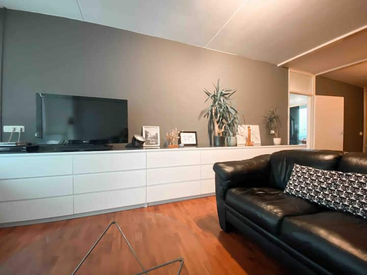 City view apartment close to downtown Utrecht