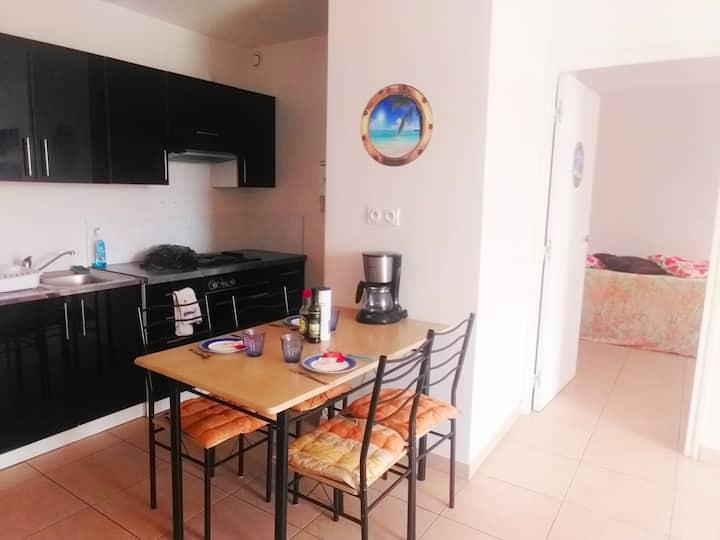 Precioso apartamento de un dormitorio en Papeete