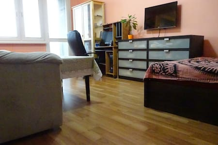 Cozy 1+1 apt, 15 min from center - Praha - Huoneisto