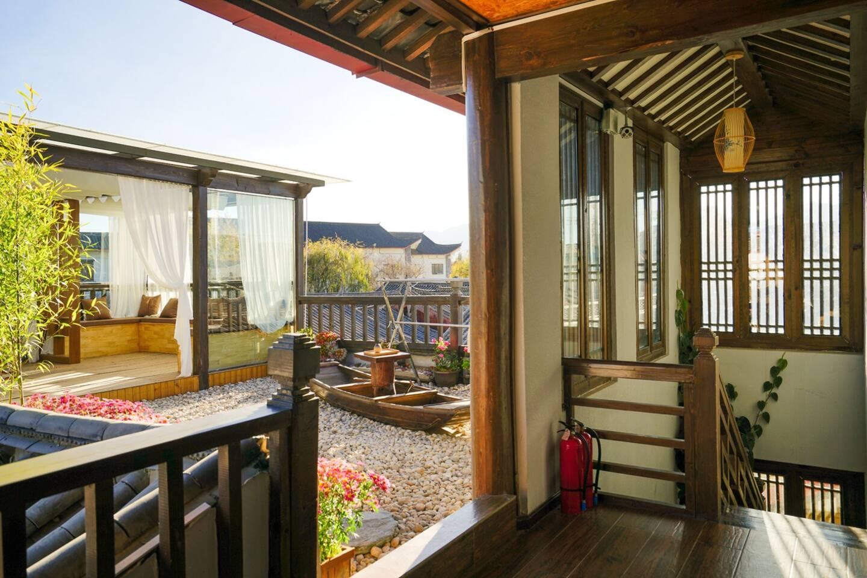 楼顶 阳台 公共休息区域