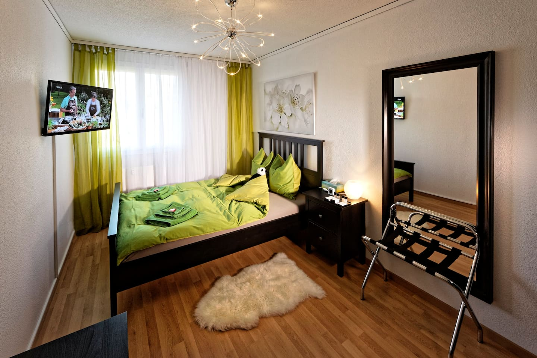 Max Aviation Apartments, Queensize Room