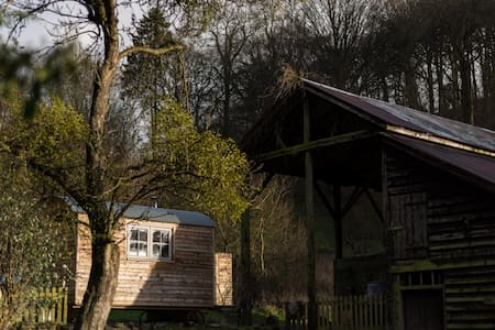Tranquil, cosy, rural shepherds hut - Wigmore