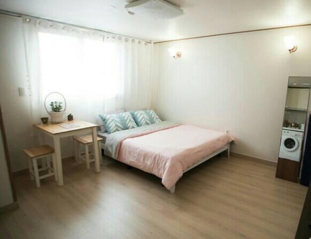 OPEN:EGG,Metro2분,무료주차,신축고층,Awesome & Cozy광안대교뷰 짱! - Suyeong-gu - Apartemen