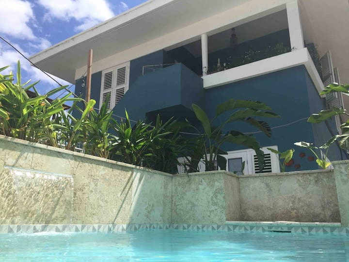 Beautiful Otrobanda appartment with private pool.