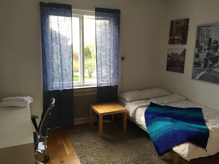 Rum med utsikt i Växjö.