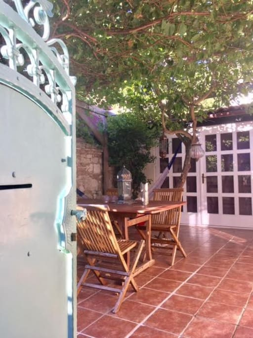 patio - entrance