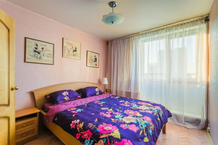 TWO-ROOM APARTMENT IN MODERN STYLE Metro  POLYANKA