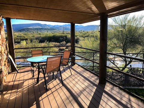 Spacious, Private Home w/ River & Mtn Scenery