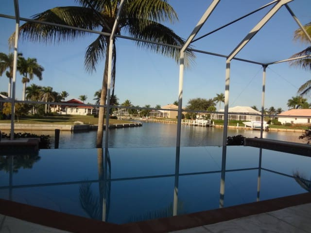 Love MarcoIsland Waterfront, Pool, Views, Dolphins - Marco Island - Ev